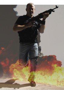 Commando-for-hire John Geddes